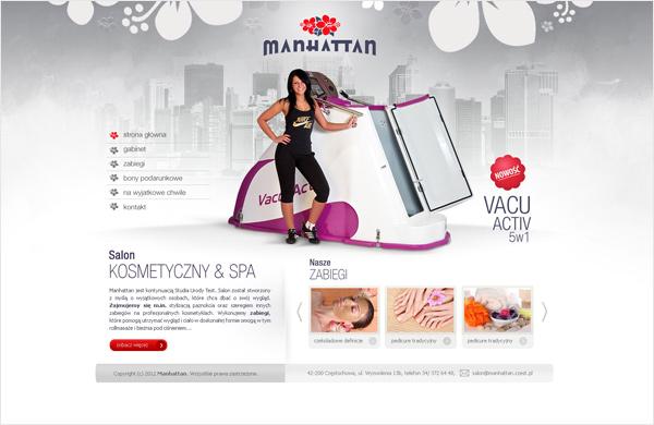 Internet Plus Czestochowa Strony Internetowe Salon Kosmetyczny